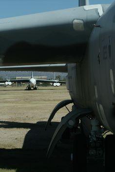 B-52s in AMARG boneyard