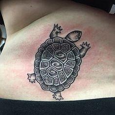 old school tortoise tattoo - Google Search