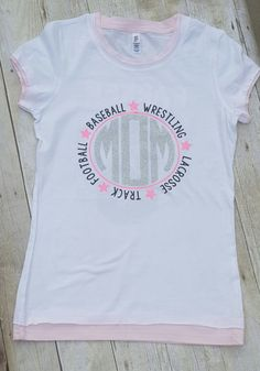 Multi-Sports Mom Shirt/ Football Mom/ Soccer Mom/ Dance Mom/ Wrestling Mom/Baseball Mom/ Lacrosse Mom by AnchorRoseCompany on Etsy