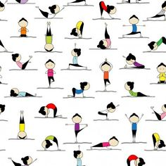 Ein Herz-Form von Schattenbildern in Yoga oder Pilates-Posen Kundalini Yoga Poses, Bikram Yoga, Pilates, Figure Yoga, Poses Yoga Enfants, Yoga Poses Names, Workout Days, Workout Routines, Fitness Routines
