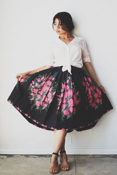 Adored Vintage skirt, the only problem being...I'm short. It would probably come down to my ankles.