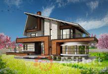 Casa cu etaj 64 Small Modern House Plans, My House Plans, Luxury House Plans, Small House Interior Design, Duplex House Design, Home Entrance Decor, House Entrance, House Design Pictures, Modern House Facades