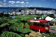 Cable Car, Wellington NZ