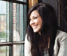 Kari Jobe. Love her hair. Thicker around the crown than on the bottom.