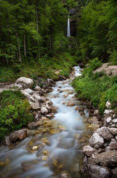 Peričnik Falls, Triglav National Park, Slovenia by Abhilash Bhaskaran