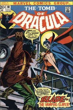 Tomb of Dracula #10, First appearance of Blade