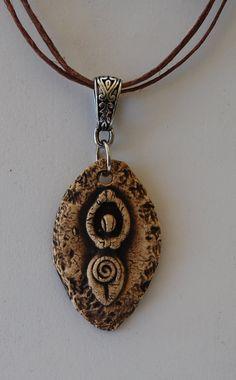 Aromatherapy Essential Oil Diffuser Pendant Goddess # 5