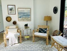 My California Room- Before & After