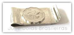 Money clip em prata 950 (950 silver money clip)