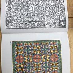 Decorative Tile Designs: Coloring Book (Dover Design Coloring Books)