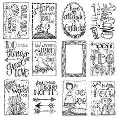 Carolee's Creations - Adornit - Art Play Paintables - 12 x 12 Paper - Brave at Scrapbook.com