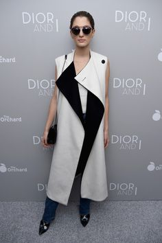Sofia Sanchez attends the Dior And I NY Premiere on April 7, 2015