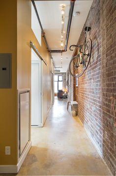 Centre Island, Toronto Photos, Polished Concrete, Granite Counters, Workout Rooms, Concrete Floors, Lofts, Beams, Locker Storage