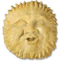 Verde Wind And Sun Plaque Orlandi Statuary Inc Decorative Objects Outdoor Living Outdoor