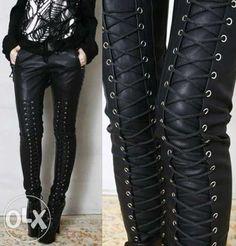женские кожаные штаны Вознесенск - изображение 2