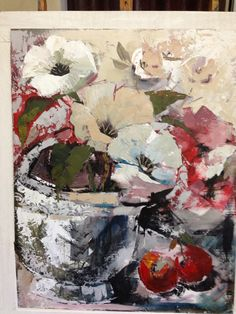 Red poppies Flower Art, Art Flowers, Floral Paintings, Painting Flowers, Oil Paintings, Red Poppies, Photo Illustration, Art Techniques, Artwork Prints