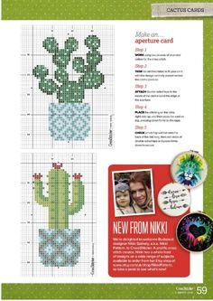 Cactus Cross Stitch, Tiny Cross Stitch, Cross Stitch Letters, Cross Stitch Bookmarks, Simple Cross Stitch, Cross Stitch Flowers, Cross Stitch Charts, Modern Cross Stitch Patterns, Cross Stitch Designs