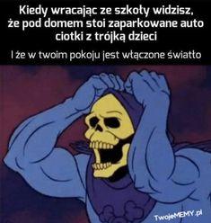 Very Funny Memes, Wtf Funny, Funny Lyrics, Polish Memes, Best Memes Ever, Funny Mems, I Cant Even, Life Memes, Pranks