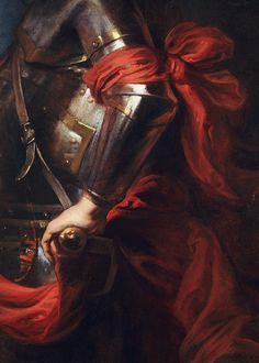 """ Anthony van Dyck, The Prefect Raffaele Raggi (detail), ca. 1625 (x) """