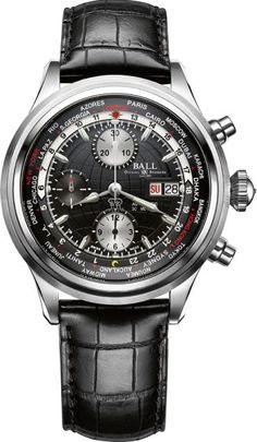 #Trainmaster Worldtime Chronograph - #Ball Watch priced at USD 3,299.