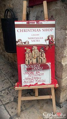 Christmas shop in Dubrovnik. Open all year. Dubrovnik, Christmas Shopping, Croatia