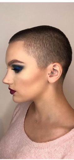 1195 Best Buzz Cuts For Brave Beautiful Women Images In 2019 Pixie
