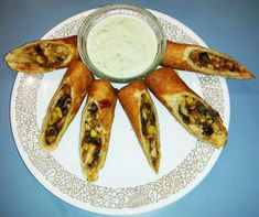 """Heather made these at the work potluck and they are the BEST SW eggrolls I've ever tasted.  She said, """"I put them all together last night and froze them overnight. I had to do mine over the stove. I had a hard time regulating the oil temperature. The first one I cut into from that batch were still frozen inside, which was okay since they were going to sit in the roaster until eaten. They do cook a little after you pull them out, but I imagine they'd fry up a lot better in a Fry Daddy."""""""