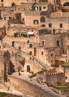 Vista sui Sassi di Matera dalle Murge Foto & Bild | paesaggi, strada, soggetti Bilder auf fotocommunity