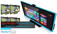 Apek MaxPad: The world's first Windows 8 powered TV. https://www.3gadgets.com/blog.php?art_id=250 #apekMaxPad #3gadgets #SayNo2UnauthenticUsedGadget