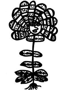 Vymyšlené květiny - ukázka