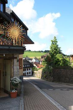 St. Peter Village in the Black Forest (Breisgau-Hochschwarzwald, Baden-Württemberg, Germany)