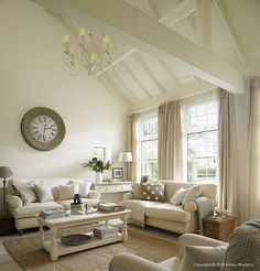 cottage interiors living- I think I could make this room work :)