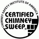 Only certified chimney sweeps are trained to clean and inspect your chimney per National Fire Prevention Association Standards!!!