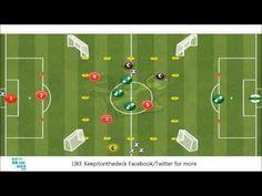 5 vs 3 into 1 vs 1 - Possession Break Out - YouTube