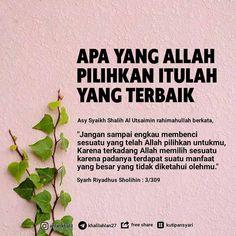 Islamic Inspirational Quotes, Islamic Quotes, Soul Quotes, Islam Muslim, Self Reminder, Quotes Indonesia, Muslim Quotes, Quran, Cool Words