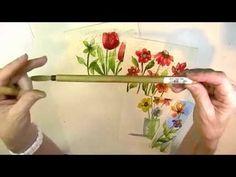 Color Drop Flower Online Workshop supplies needed. http://store.creativeworkshops.me/Color-Drop-Flowers--Martha-Lever_p_21.html Come join me!!!