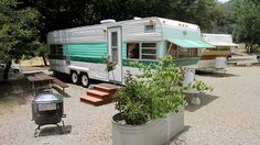 Pinecrest Private Resort - Cuyamaca - all vintage trailers, can even rent for 60 to 90 per day