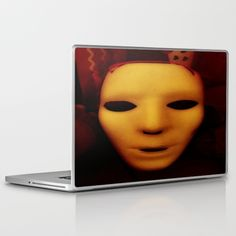 DESCRIPTION Skins are thin, easy-to-remove, vinyl decals for customizing your laptop . Skins are made from a patented material that eliminates air bubbles and wrinkles for easy application. ABOUT THE ART Face; Abstract; Photo; Dark...