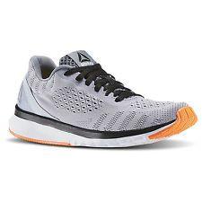 3f7648dbf6a Reebok Men s Print Smooth Cloud Grey Black Blue Orange size 8 Best Shoes
