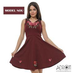 în stocul Adrom Collection a sosit acest model nou de rochie cu broderie florală. Aproviziționează-ți și tu magazinul cu acest model superb, cumpărându-l direct de aici:  http://www.adromcollection.ro/556-rochie-angro-6190.html