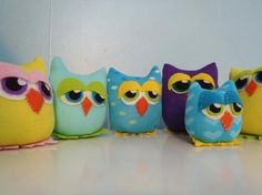 sock owls to make for e's party
