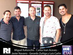 Miguel Kalionchis - Carlos Ivan Aceves - Javier Navarro - Gerardo Zuñiga y Luis Carlin