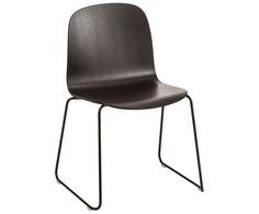 Stuhl in Schwarz - MUUTO >> WestwingNow | WestwingNow