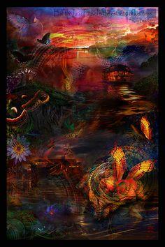 Amazon Voyages Tapisserie - Jumbie Art