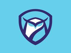 Owl Logos Imparting Some Design Wisdom - It's time to impart some wisdom with a beautiful set of Owl logos. Typography Logo, Graphic Design Typography, Security Logo, Owl Logo, Bird Logos, Badge Logo, Great Logos, Retro Logos, Logo Concept