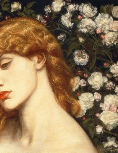 """taleoftheicecat: """"Details of Lady Lilith, Dante Gabriel Rossetti, - Art World Aesthetic Painting, Aesthetic Art, Old Paintings, Beautiful Paintings, Rennaissance Art, Renaissance Paintings, Art And Illustration, Illustrations, Classical Art"""