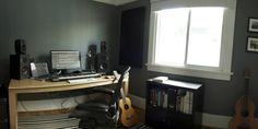 Check out this massive list of home studio setup ideas. Filter down by room colors, number of monitors, and more to find your perfect studio. Home Recording Studio Setup, Home Studio Setup, Music Studio Room, Home Office Setup, Studio Ideas, Office Workspace, Feng Shui, Room Colors, Music Studios