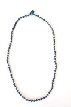 ΑΝΔΡΙΚΟ ΚΟΛΙΕ ΜΕ ΗΜΙΠΟΛΥΤΙΜΕΣ ΠΕΤΡΕΣ ΑΙΜΑΤΙΤΗ, ΣΤΡΟΓΓΥΛΕΣ Beaded Necklace, Handmade, Jewelry, Fashion, Beaded Collar, Moda, Hand Made, Jewlery, Pearl Necklace