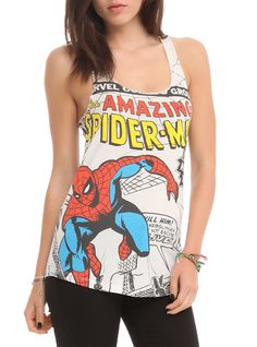 Spider-Man Tank for the ladies