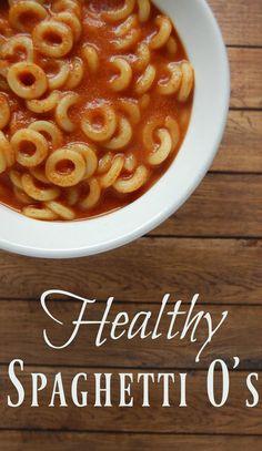 Healthy Spaghetti O'